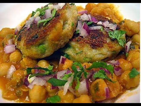 Ragda Patties-Indian Fast Food