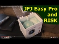 Using my JFJ Easy Pro to resurface a few games and a drive-time talk about RISK