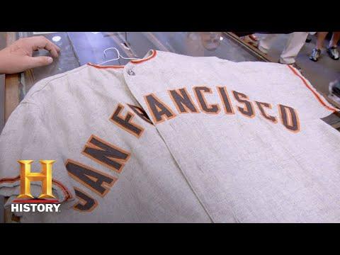 Pawn Stars: Willie Mays' Baseball Uniform (Season 6) | History