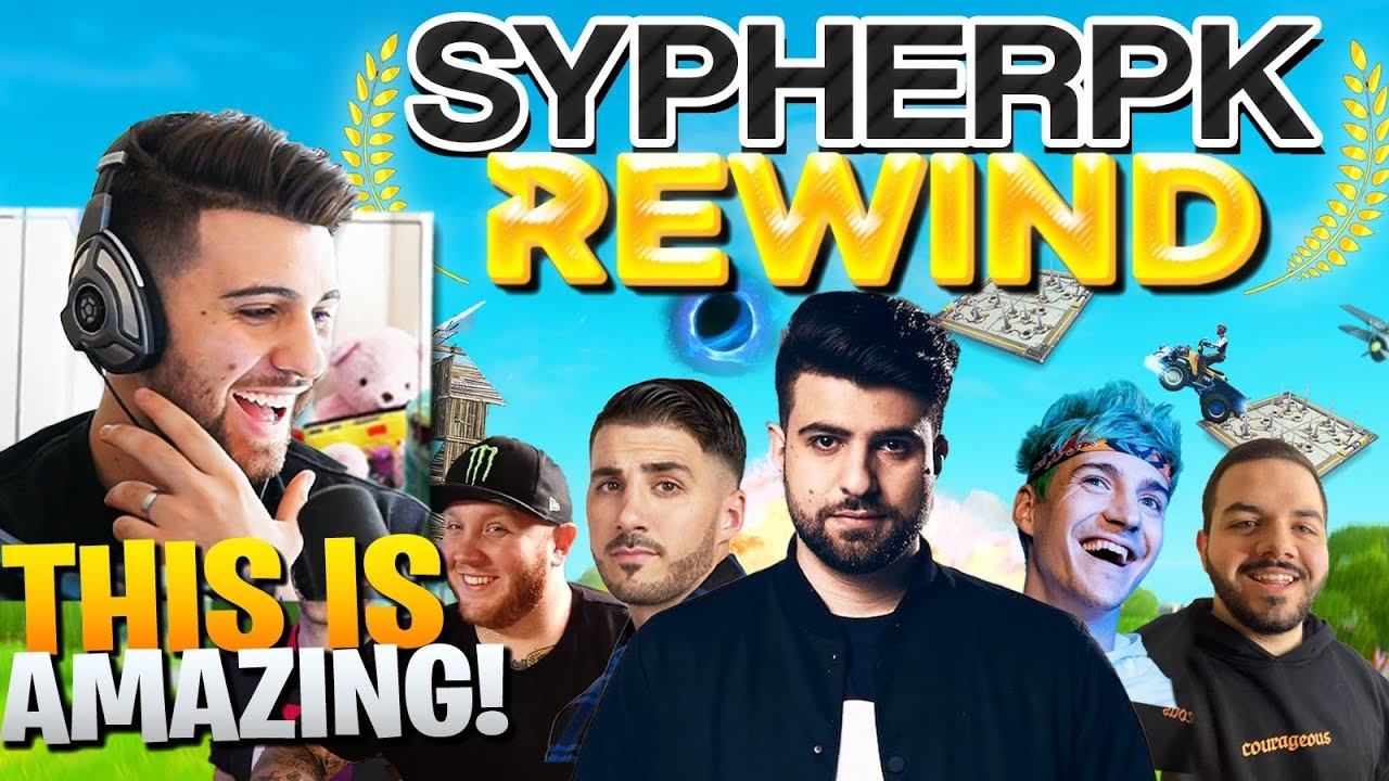 SypherPK REACTS To The SYPHERPK FORTNITE REWIND!