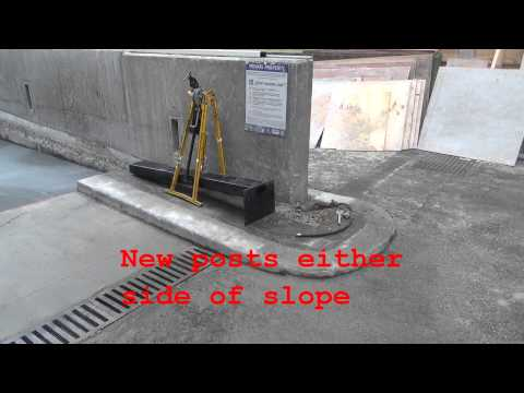 2015-01-06 Ramp removal making good - car park