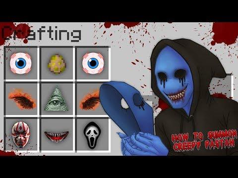 Minecraft HOW TO SUMMON CREEPY PASTA EYELESS JACK!! - Donut the Dog