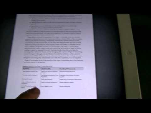 Ebook Reader Review - Kindle Paper White , iPad , Safari , Adobe PDF, Calibre, iBook and PC