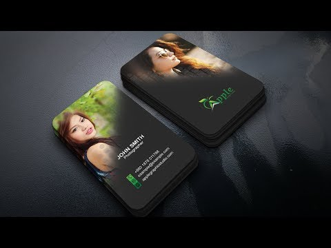 How To Make an Eye Catching Business Card in Photoshop