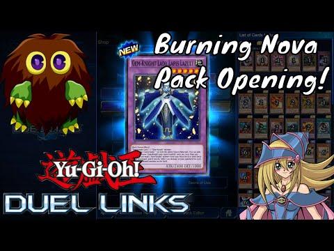 Yugioh Duel Links - Burning Nova Pack Opening
