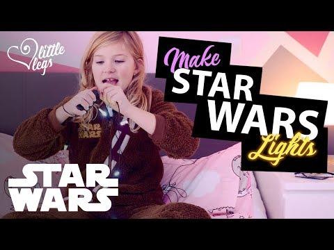 How to make star wars lights - A lightsaber light from cheap LED lights