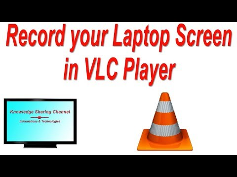How to Record your Computer Screen in VLC Player   Record your Laptop Screen in VLC Player