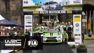 WRC 2 - ADAC Rallye Deutschland 2016: WRC 2 HIGHLIGHTS/ Review Clip