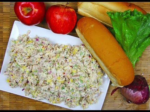 Amazing Chicken Salad Recipe  #TastyTuesdays | CaribbeanPot.com