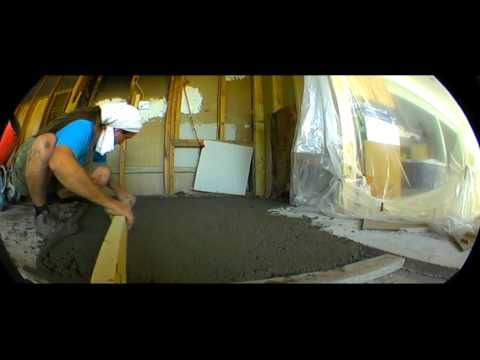 HOW  DO  FLOOR LIFT AND LEVEL WITH CONCRETE  by RASTA TILE MAN