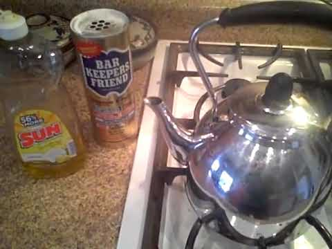 Cleaning a tea kettle part 3