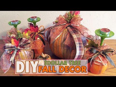 DIY Fall Dollar Tree Decor