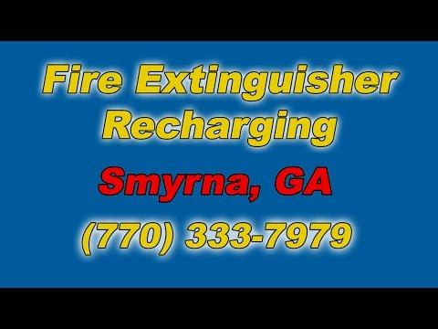 Fire Extinguisher Recharging Smyrna GA