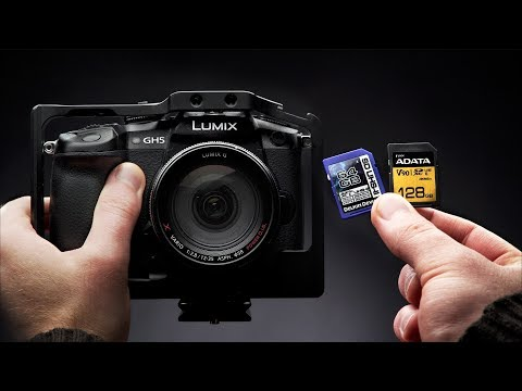 Best SD Cards for The Panasonic GH5
