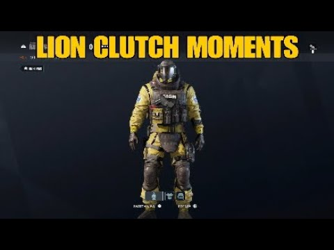 LION CLUTCH MOMENTS - Rainbow Six Siege