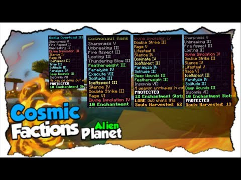 Water PvP GOD SET KILL MONTAGE On CosmicPvP Ep 14 (Factions) Map 7 [Alien Planet]