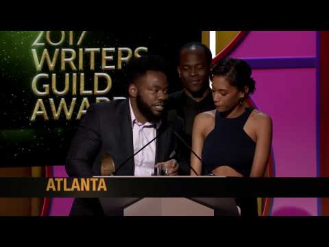 The 2017 Writers Guild Award for New Series goes to Atlanta