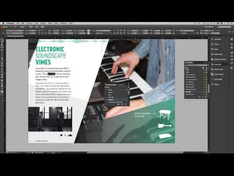 How to Add Hyperlinks and Buttons in Adobe InDesign CC