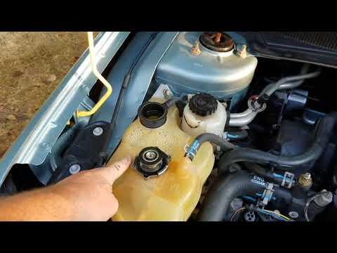 Coolant flush and bleeding Chrysler 2.7