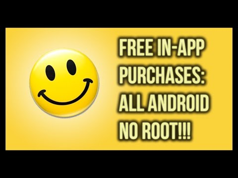 Free InApp Purchases: Android No Root!!