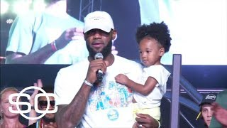 Watch LeBron James