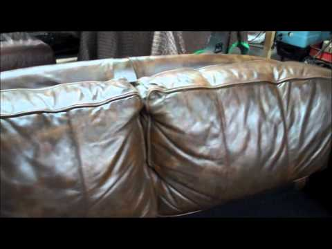 Platinum Care / All County Leather | Leather Sofa Color Restoration