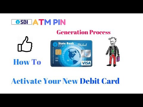 How To Set SBI ATM PIN Generation Process Activate New SBI Debit Card Online