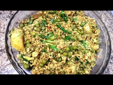 keema Matar Aalu Recipe  by Fatma's Kitchen