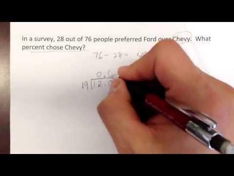 Percent word problem