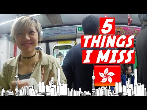 5 things I miss about Hong Kong -  that you can't get in the UK! 🇬🇧