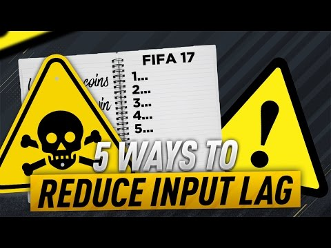 FIFA 17 HOW TO REDUCE THE INPUT DELAY (BUTTON DELAY/LAG SOLUTION) - FUT CHAMPIONS TIPS & TRICKS
