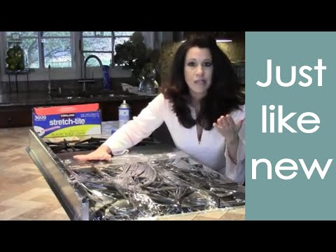 Deep Clean Your Stove Top (EASY how to) - Renee Romeo