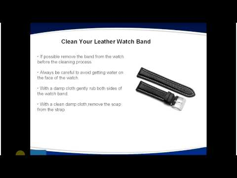 Tips to Clean Your Leather Watch Band