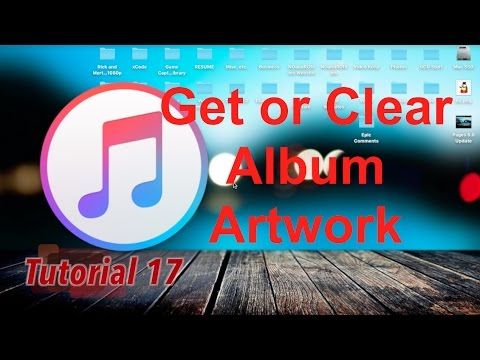 Add Album Artwork to Song in iTunes 12.5.1 | Tutorial 17