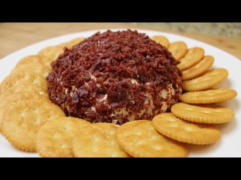 How To Make a Beef Jerky Cheese Ball