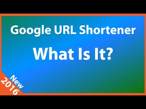 What is Google URL Shortener?