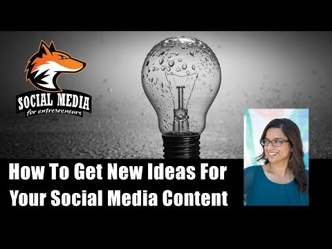 How To Get New Ideas For Your Social Media Content