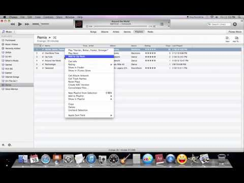 How To Make a Remix Using iTunes