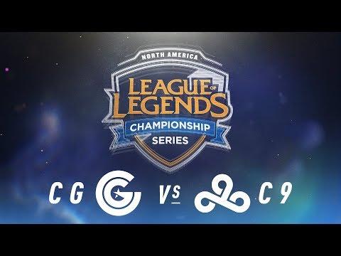 CG vs. C9 - Week 3 Day 2 | NA LCS Spring Split | Clutch Gaming vs. Cloud9 (2018)