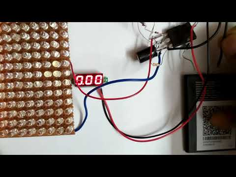 Simple 3.7V to 30V Boost Converter Circuit