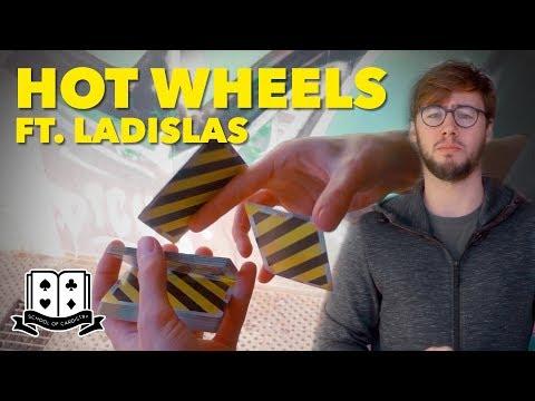 Cardistry for Beginners: Two-handed Cut - Hot Wheels Tutorial ft. Ladislas