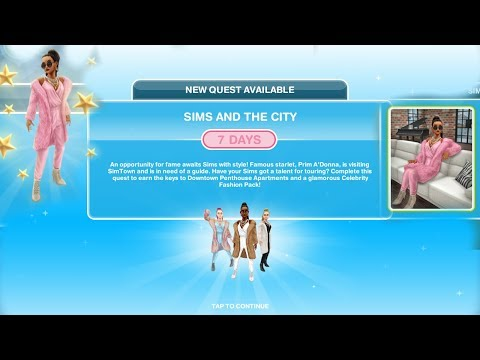 Simsfreeplay - Sims And The City  (Quest)
