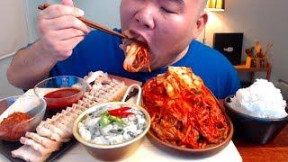푸가네 김장했어요 ! 굴보쌈 먹방 이에요 ! 우리집 김치 래시피 공개  ~~