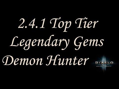 [2.4.2] Diablo 3 - Best Legendary Gems - Demon Hunter Guide