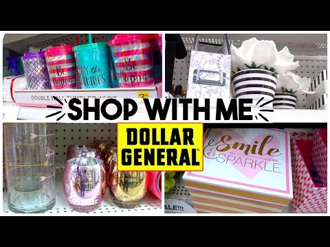 SHOP WITH ME   DOLLAR GENERAL   HOME DECOR + BRAND NAMES FOR CHEAP! Sensational Finds