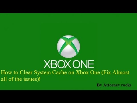 How To Solve Most Issues With Your Xbox One! (Clearing Your Cache!) 2015