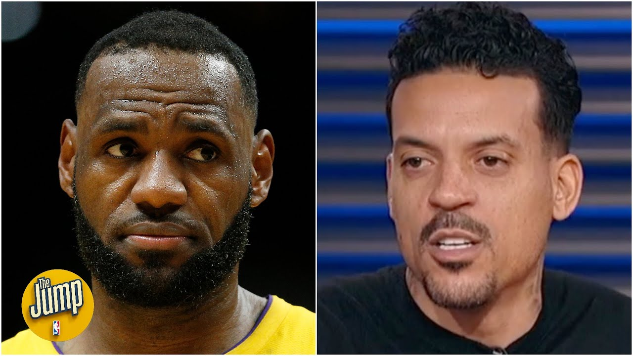 LeBron 'could care less' about his rivalry with Giannis - Matt Barnes | The Jump