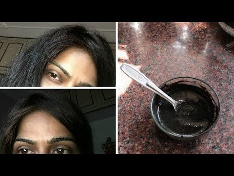 NATURAL BLACK HAIR DYE || GET BLACK HAIR PERMANENTLY || TESTED
