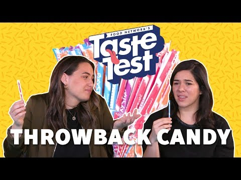 Taste Test: Throwback Candy | Food Network