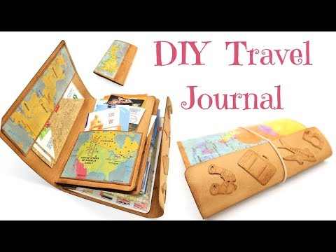 How To Make A Travellers Notebook or Journal